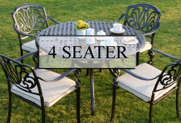 4 seater tables