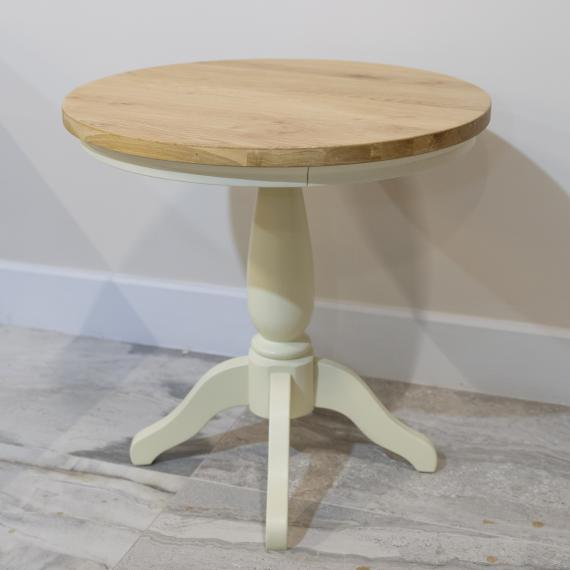 Bramley cream painted round table