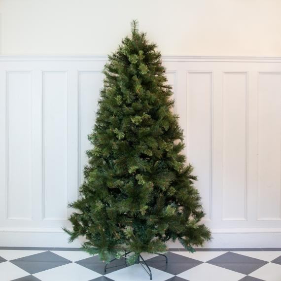 6ft premium classic pine artificial christmas tree