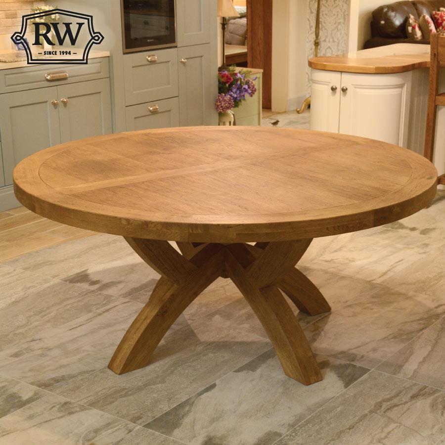 Fitzwilliam Oak 1 7m Round Table Rathwood