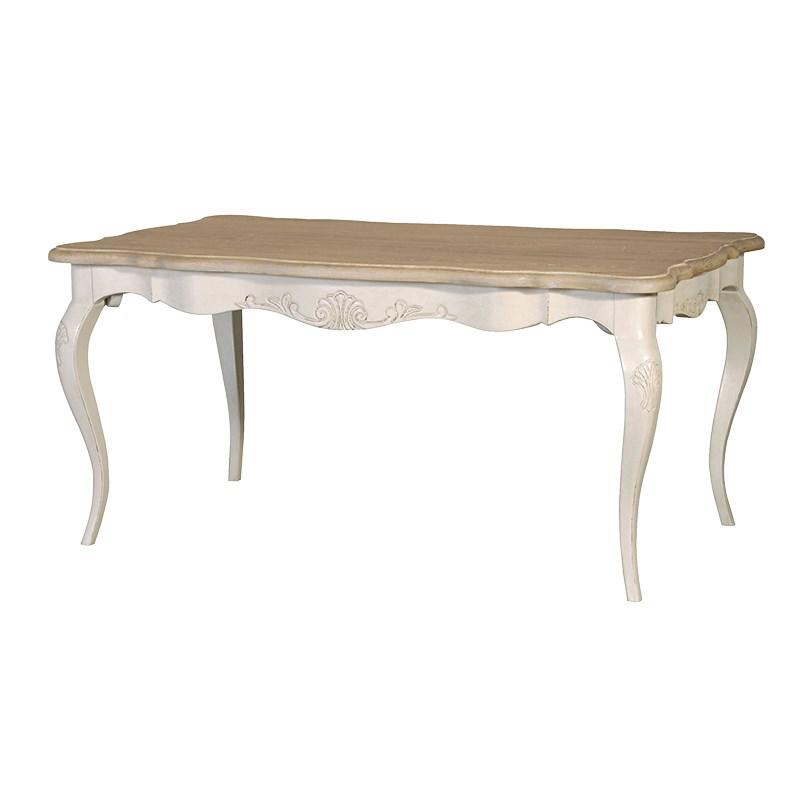 French Style Oak Coffee Table: French Dining Table