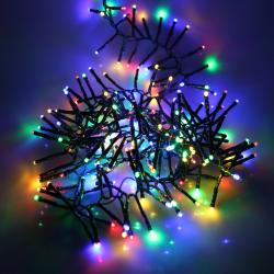 240 multi function diamond string lights multi colour
