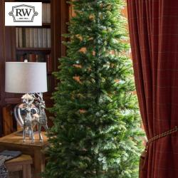 8 5ft premium slim scots pine artificial christmas tree