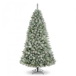 8ft frosted alaskian christmas tree