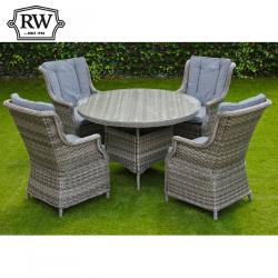 Boston 4 seater round set