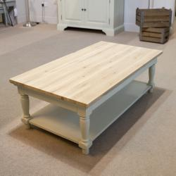 Clifton grey painted coffee table