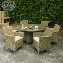 Dumont 6 seater round set