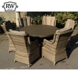 Hampton alfresco 6 seater set