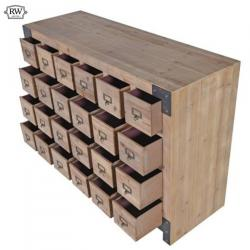 Industrial 24 drawer chest