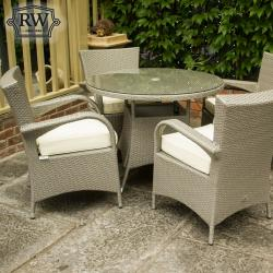 Merrion grey 4 seater set