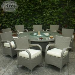 Merrion grey 8 seater set