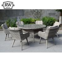Oslo 6 seater round set