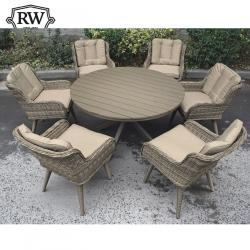 Oslo alfresco 6 seater set