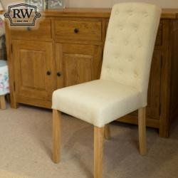 Rose beige chair