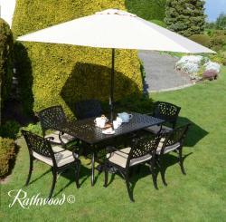 Ballymoney rectangle garden set