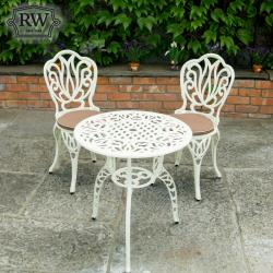 Cornwall cream bistro set