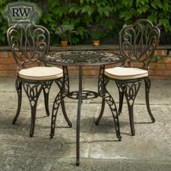 Cornwall dark bistro set