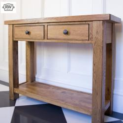 Fitzwilliam 2 drawer console