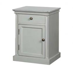 French chic pot cupboard grey