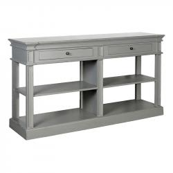 French chic shelf buffet grey