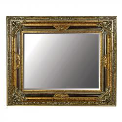 Gilt rose swags mirror
