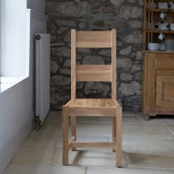 Kingston oak dining chair