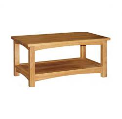 Manhattan oak coffee table
