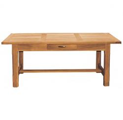 Manhattan oak double extending table