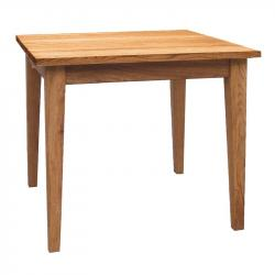Manhattan oak square dining table