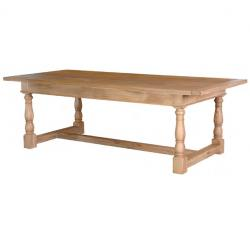 Portou oak refectory table