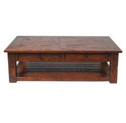 Wentworth large coffee table antique oak