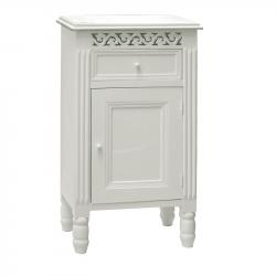 White pot cupboard