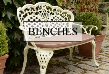 benches - Garden Furniture Ireland