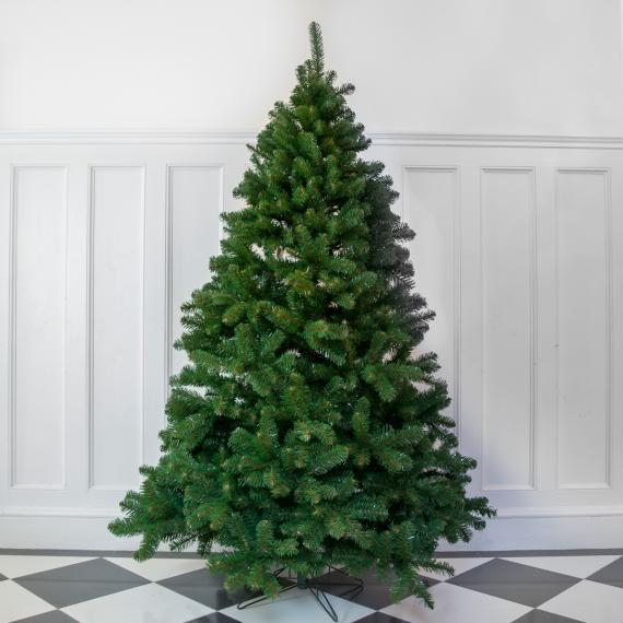 8ft premium evergreen full artificial christmas tree