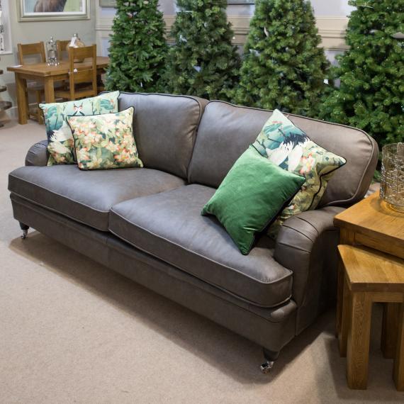 Vintage Leather sofas, Halo sofas, handmade leather Sofas - rathwood ...