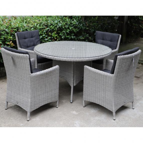 Warehouse clearance berkeley 4 seater round set