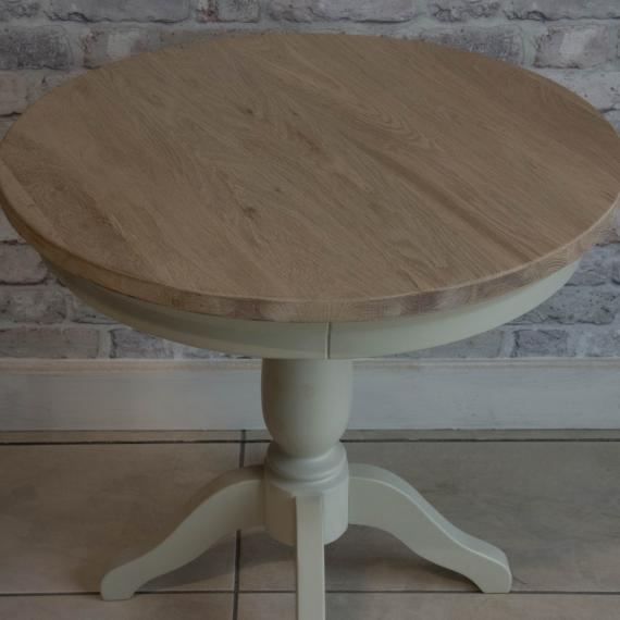 Warehouse clearance clifton grey painted round table