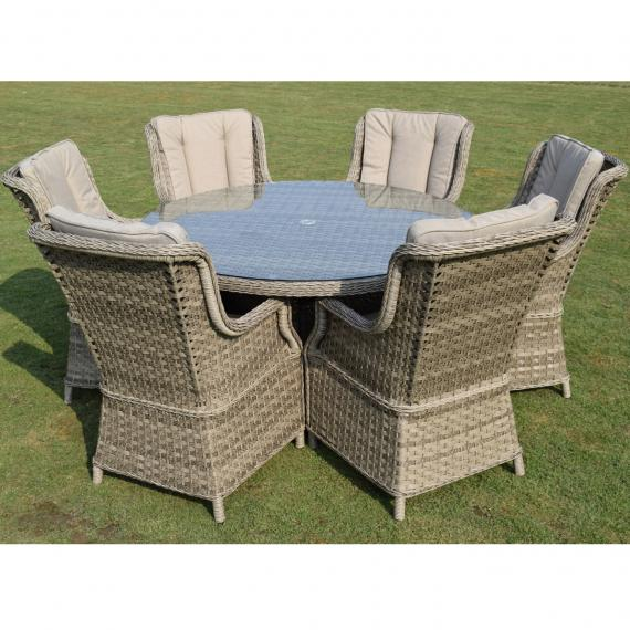 Hampton 6 seater set
