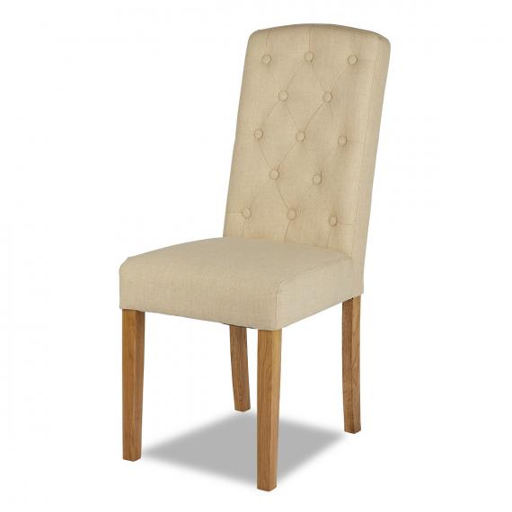 Warehouse clearance rose beige chair