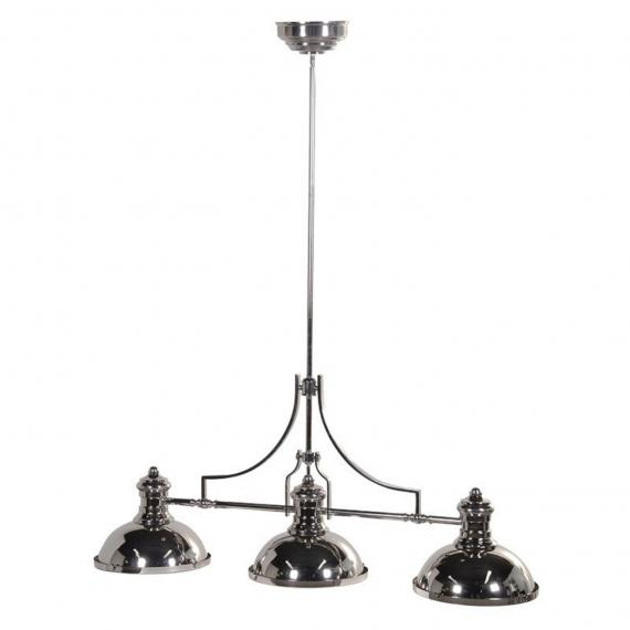 Urban silver ceiling light