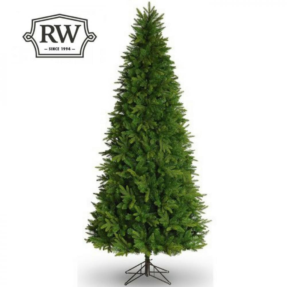 10ft Tall Slim Scots Pine Artificial Christmas Tree - Rathwood