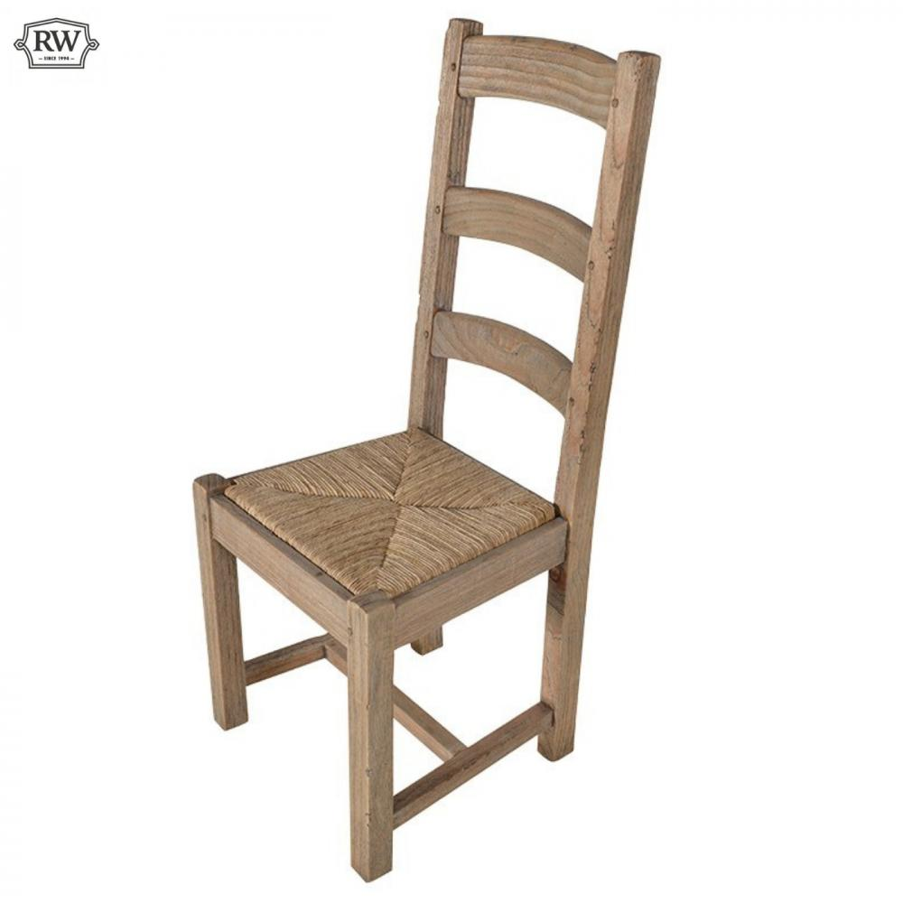 Rustic French Pine Dining Chair Rathwood