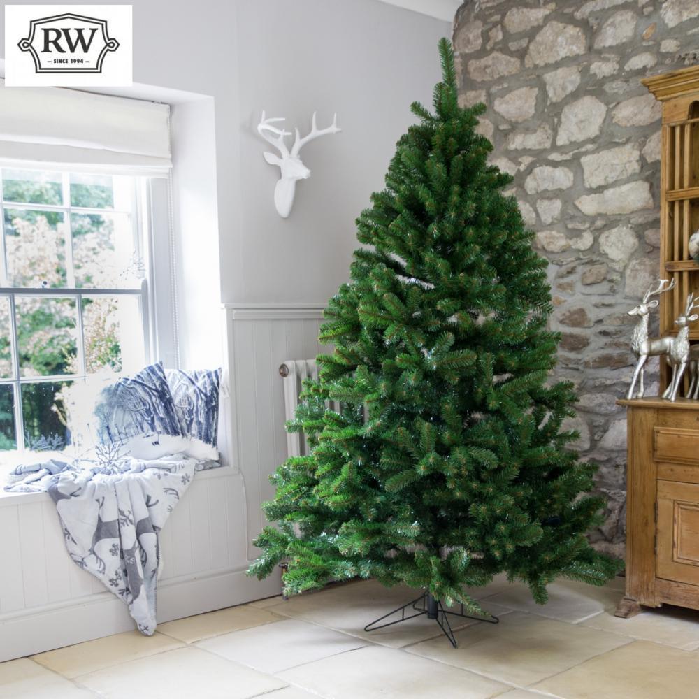8ft Premium Evergreen Full Artificial Christmas Tree Rathwood