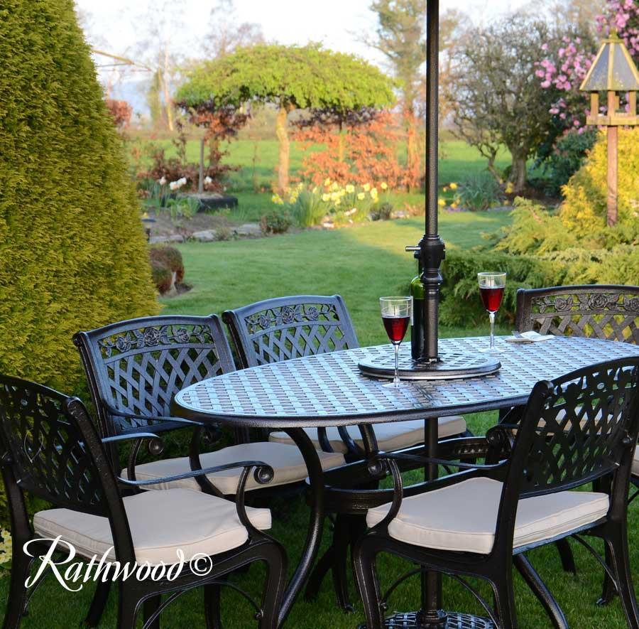 Ballyconnell Oval Garden Set Rathwood