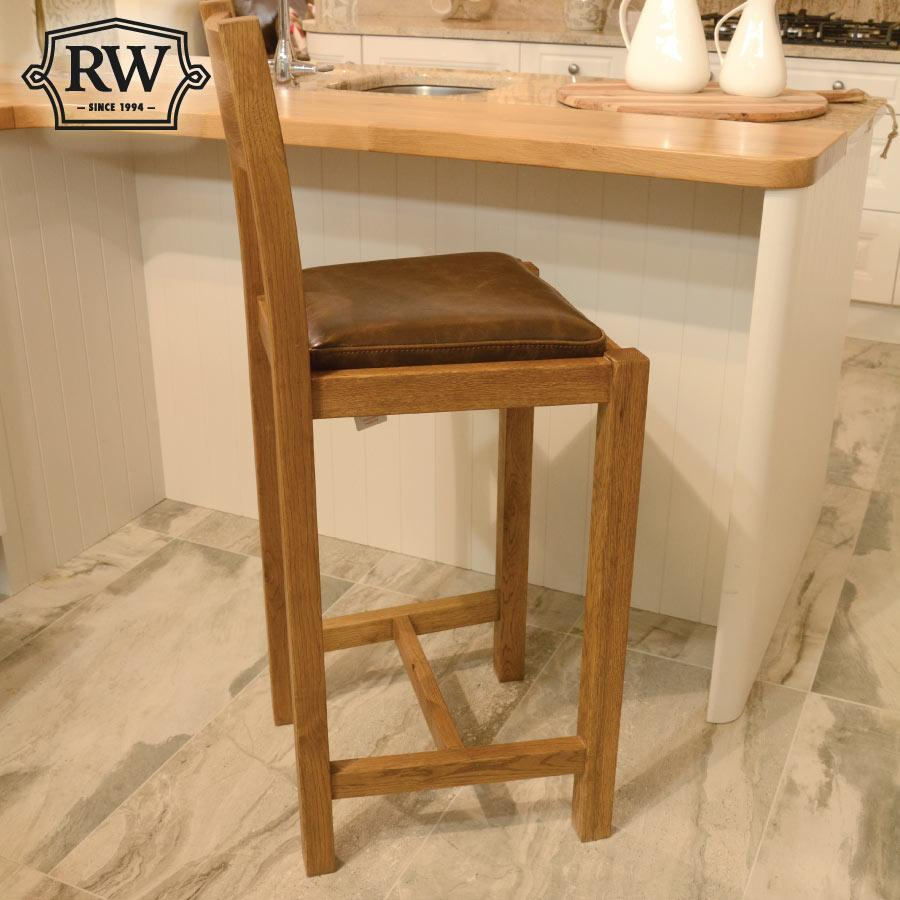Fitzwilliam oak bar stool
