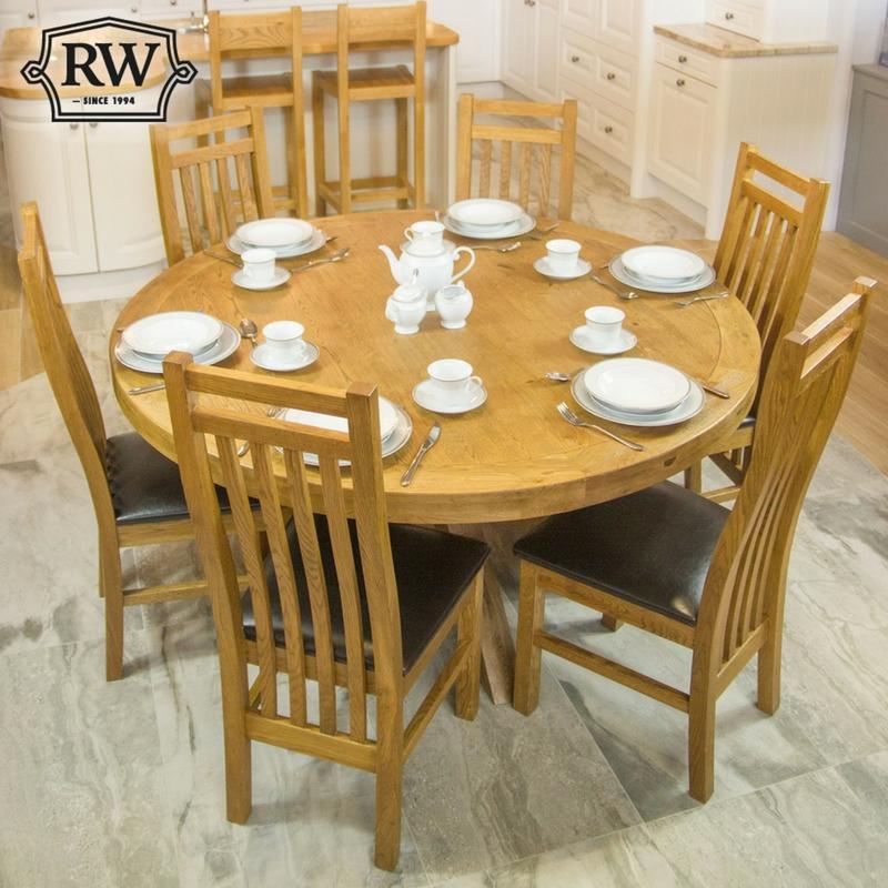 Fitzwilliam Oak 1 5m Round Table