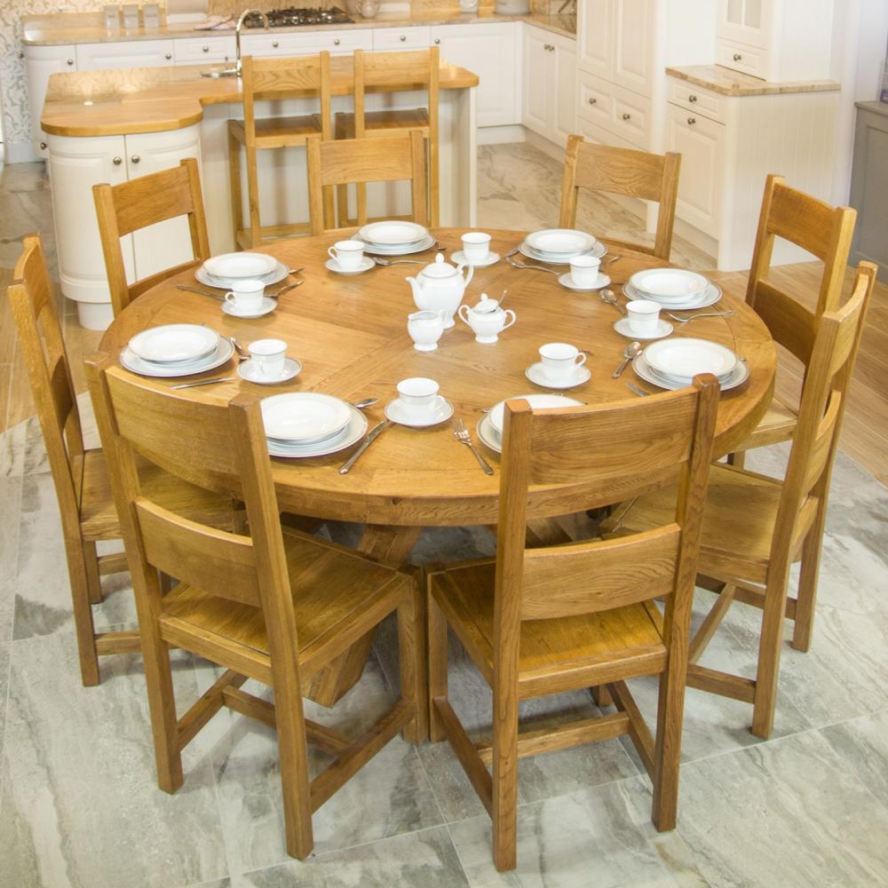 Round Table Orange.Fitzwilliam Oak 1 7m Round Table