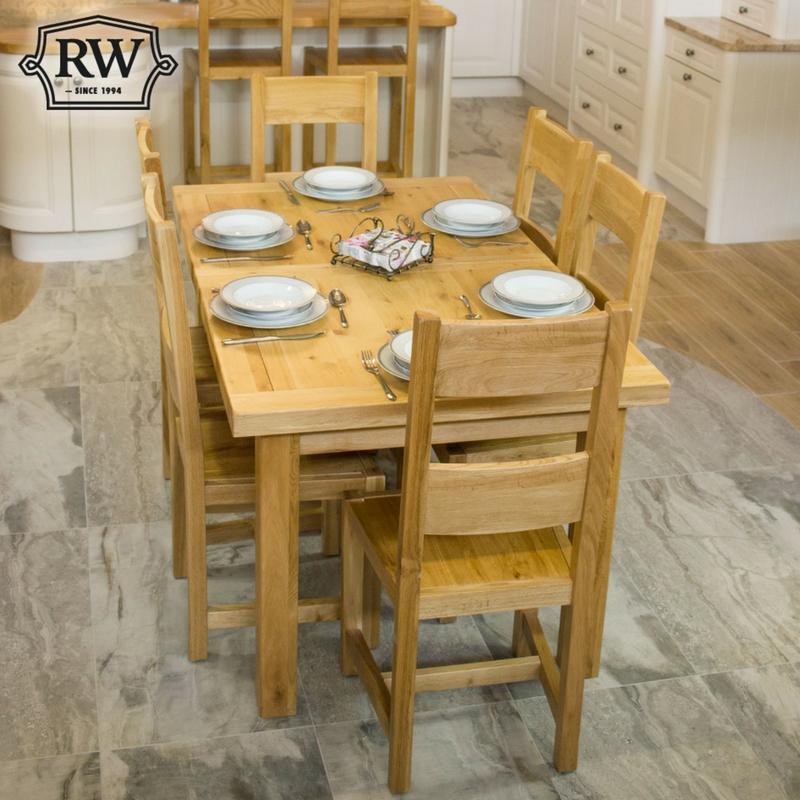 Kingston 5ft Oak Extending Dining Table
