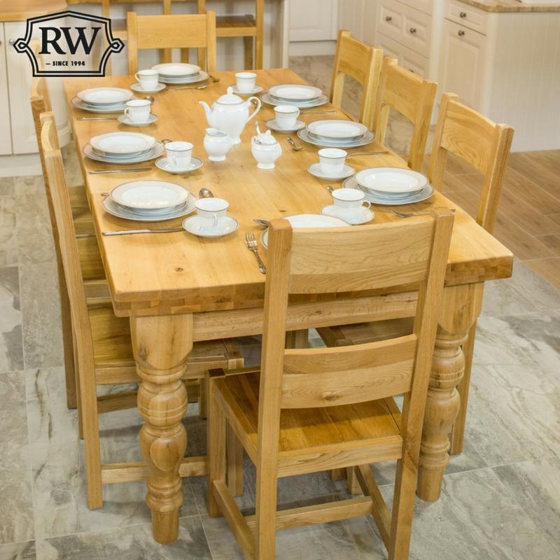 Kingston Farmhouse 7ft Table