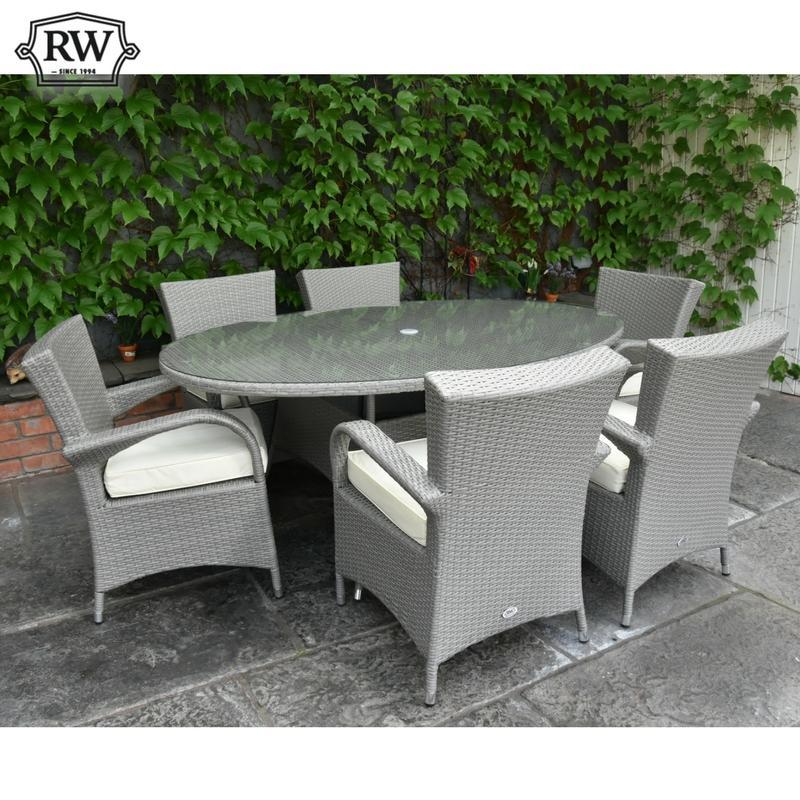 Garden Furniture · Rattan Furniture · Merrion Oval 6 Seater Set